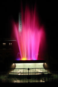 Fisher Rainbow Fountain